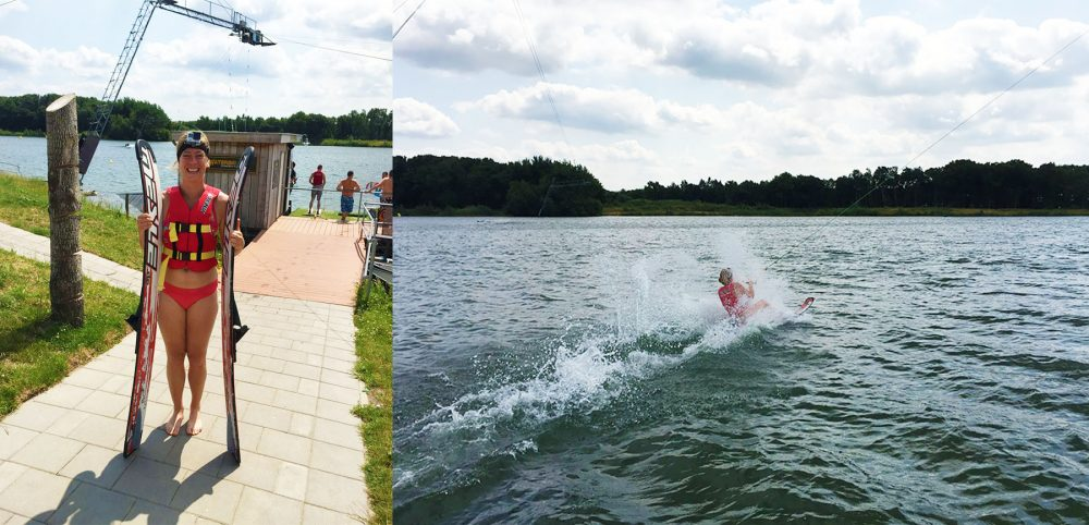 Waterskiën in Zeumeren