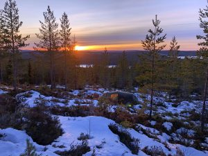 Een winters avontuur in Dalarna, Zweden