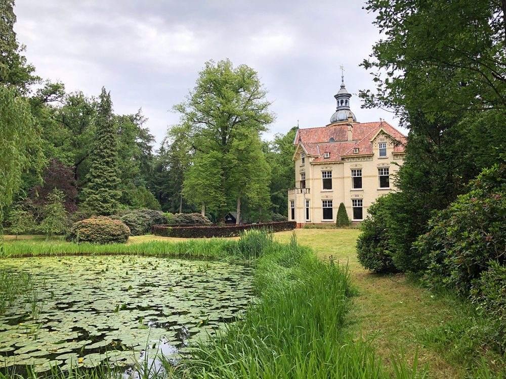 Landgoed Oud Groevenbeek op het Veluwe Zwerfpad