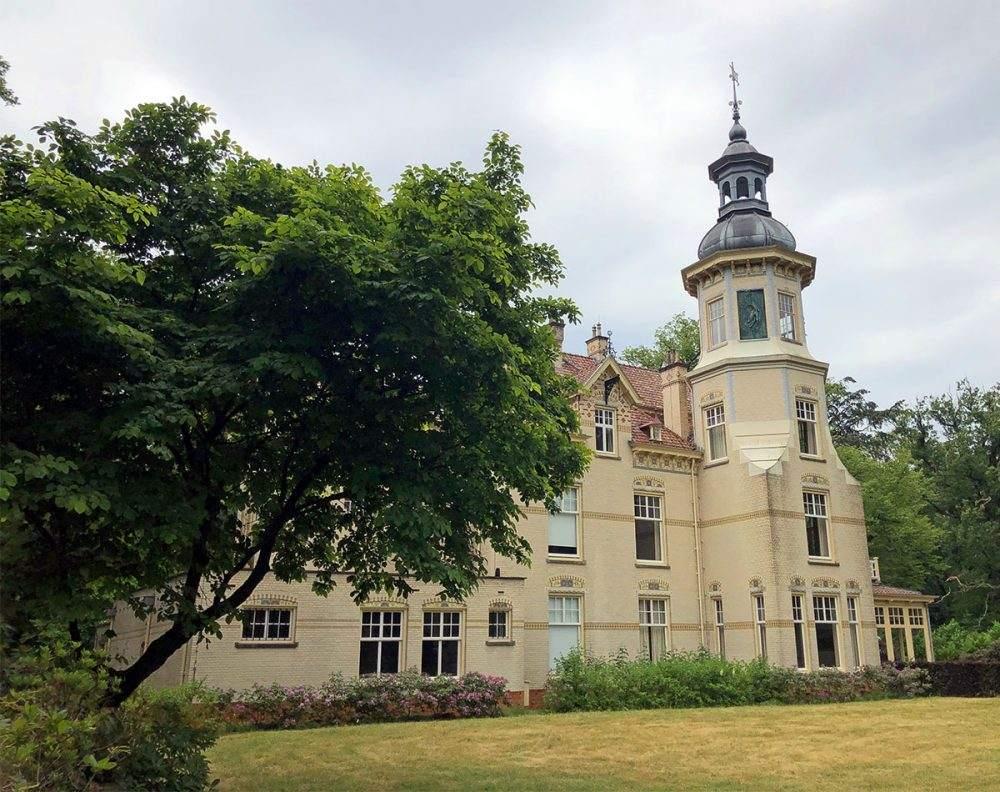 Villa Oud Groevenbeek op het Veluwe Zwerfpad etappe 8