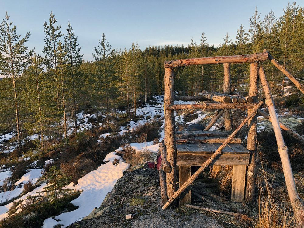 winterkamperen in zweden