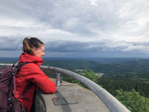 Hohe Acht: hiking to the highest peak in the Eifel mountains