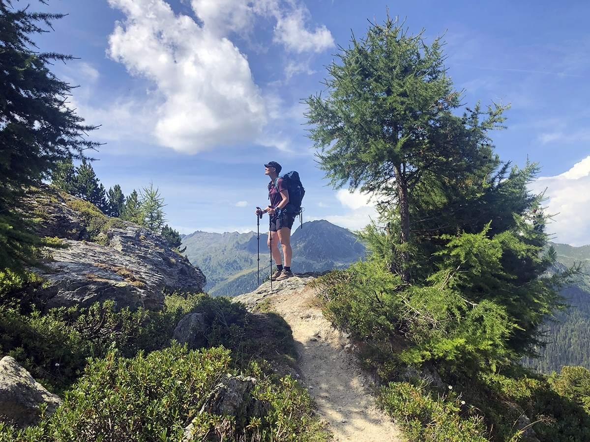 Nendaz trek Zwitserland