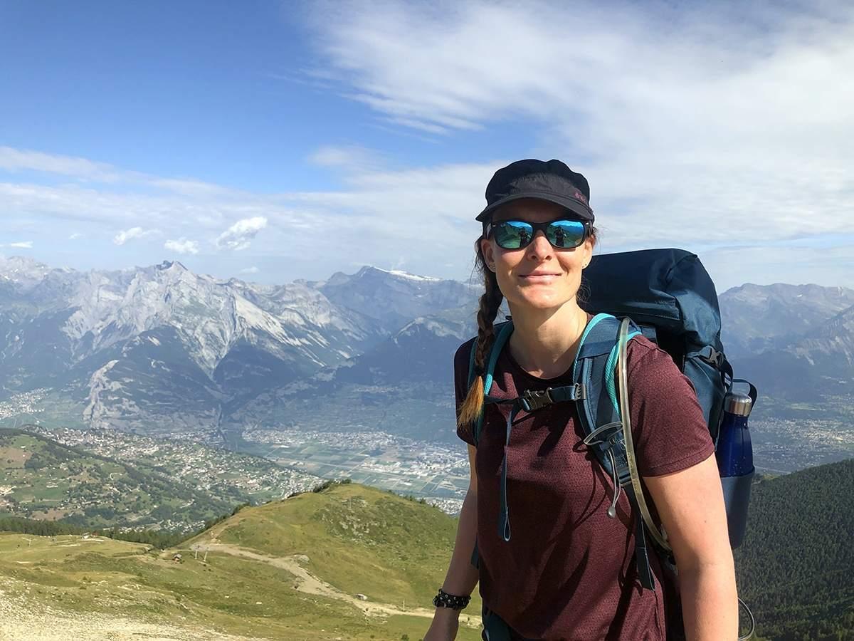 Op de top van Mont Rouge
