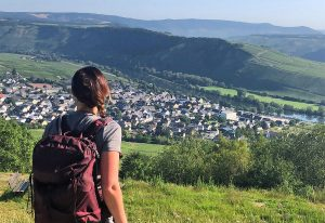 Hiking in the Mosel valley in Germany