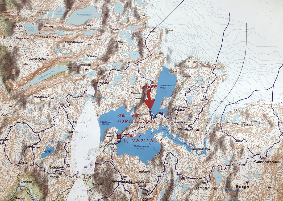 best unknown hikes in norway hiking map