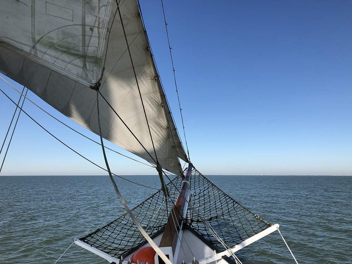 Aan boord van de Abel Tasman