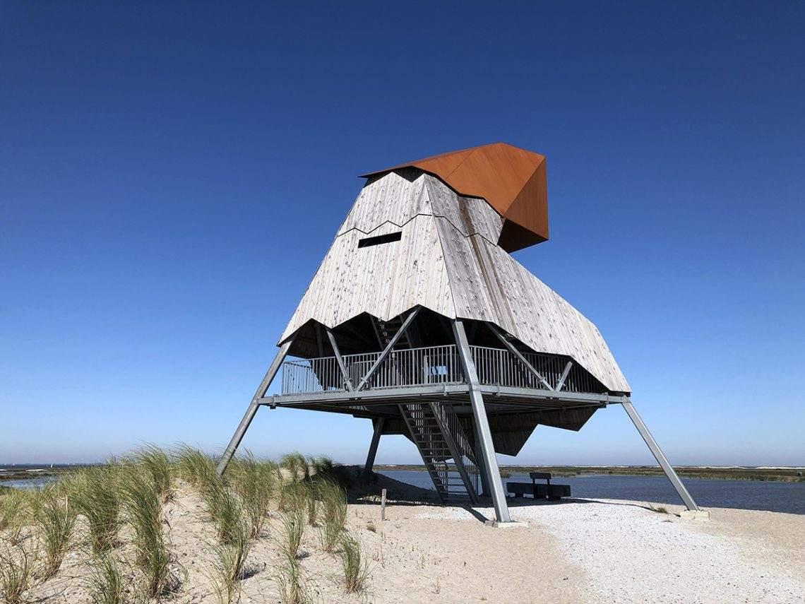 Uitkijktoren Marker Wadden