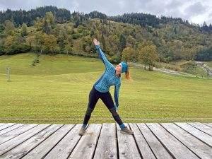 Yoga in de Alpen tijdens de Gastein Yoga Herbst