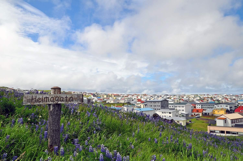 Heimagata on Vestmannaeyjar