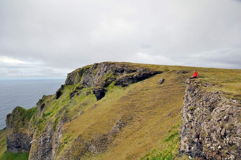 Hiking on Vestmannaeyjar