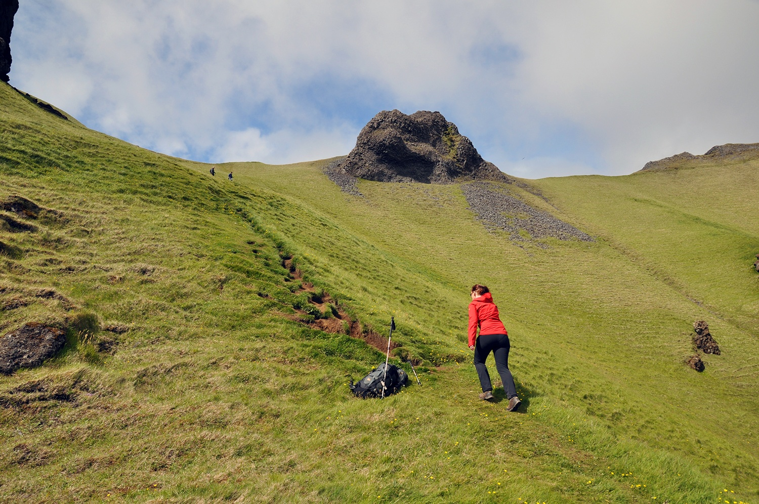 Hiking on the Westman Islands