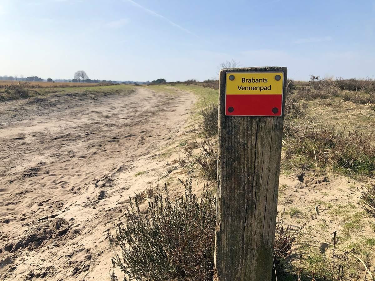 Brabants Vennenpad etappe 1 markering