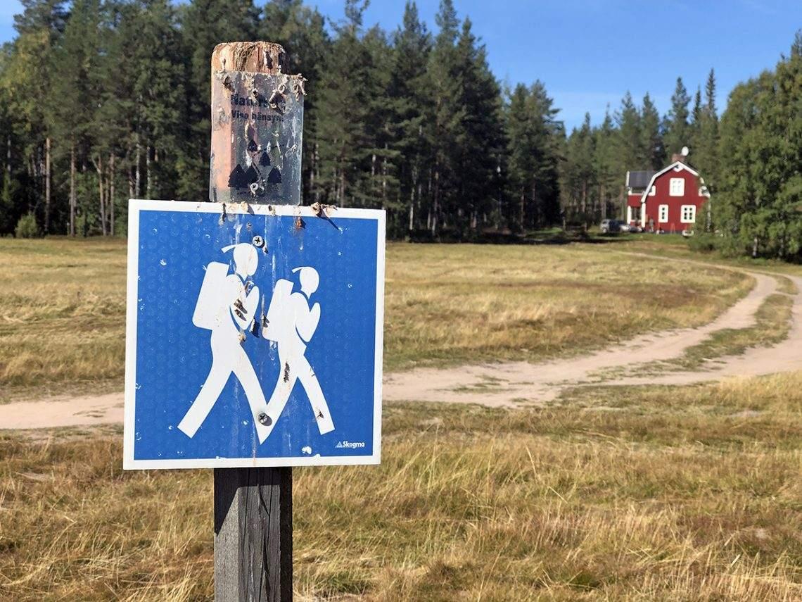 Wandelen in Zweden