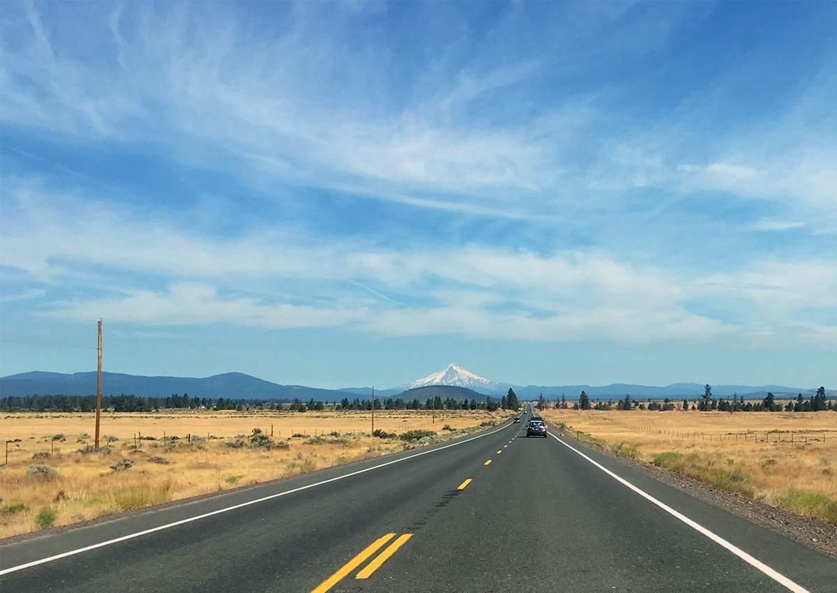 Het droge binnenland tijdens je rondreis in Oregon