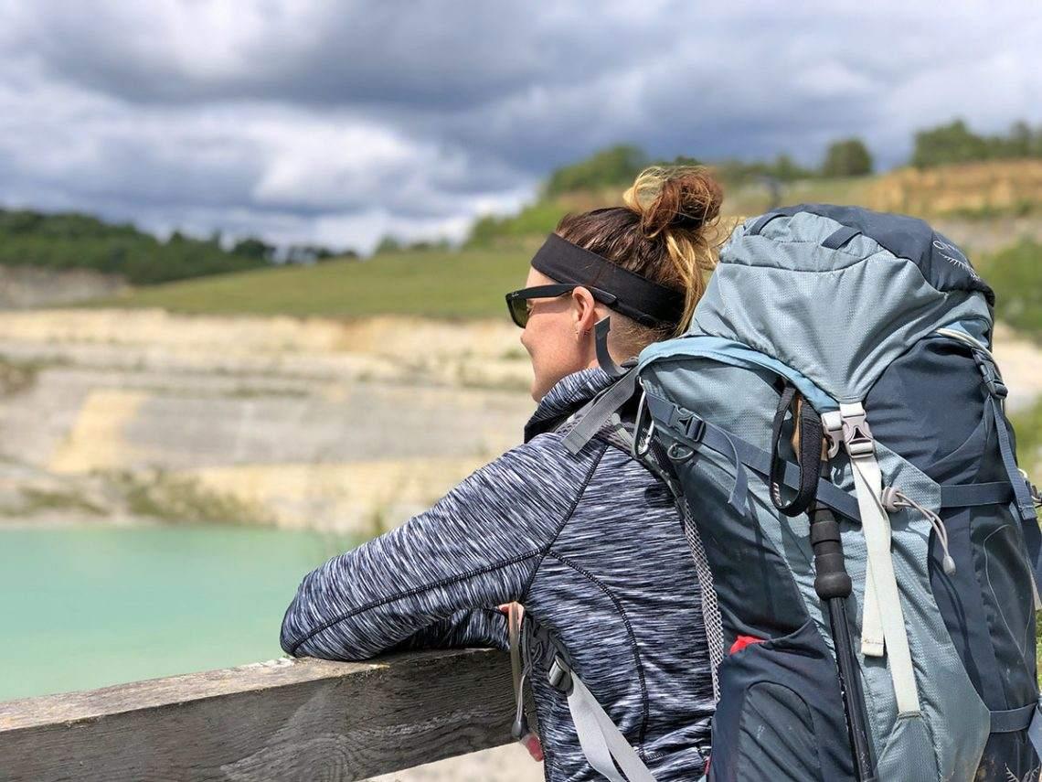 Dutch Mountain Trail ENCI uitzicht