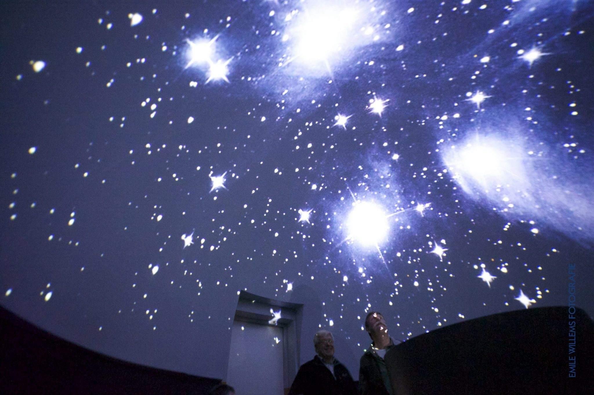 Het planetarium van de sterrenwacht