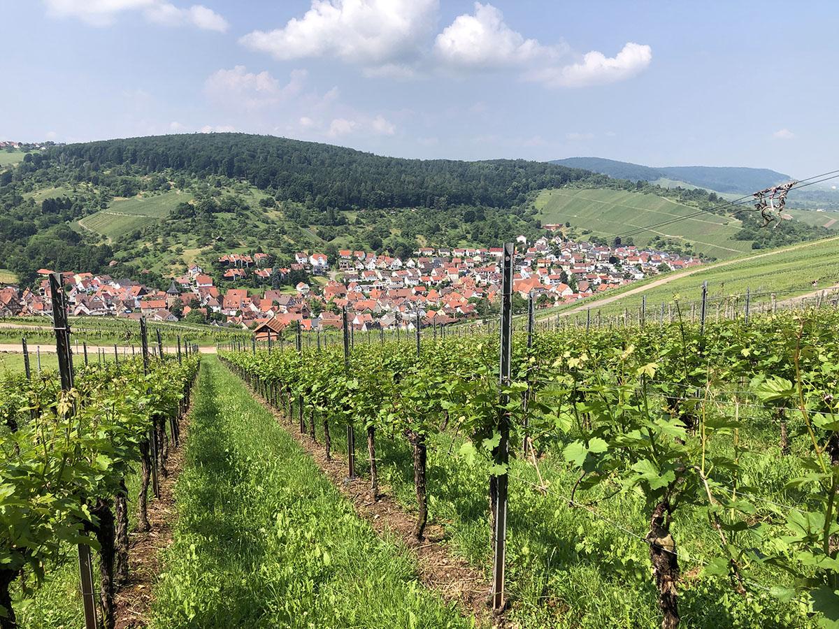 Strümpfelbach aan de Remstalweg