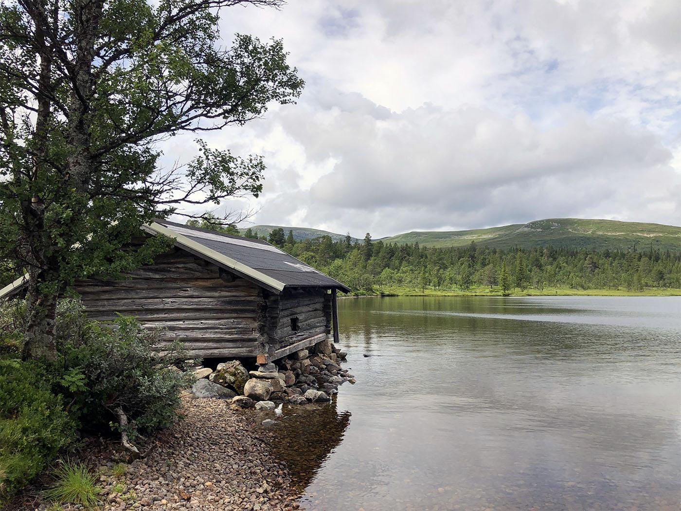 Grövelsjön meer Zweden