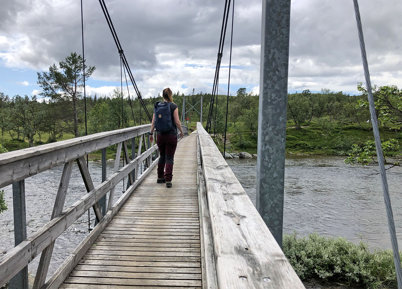 Wandelen in Grövelsjön Zweden