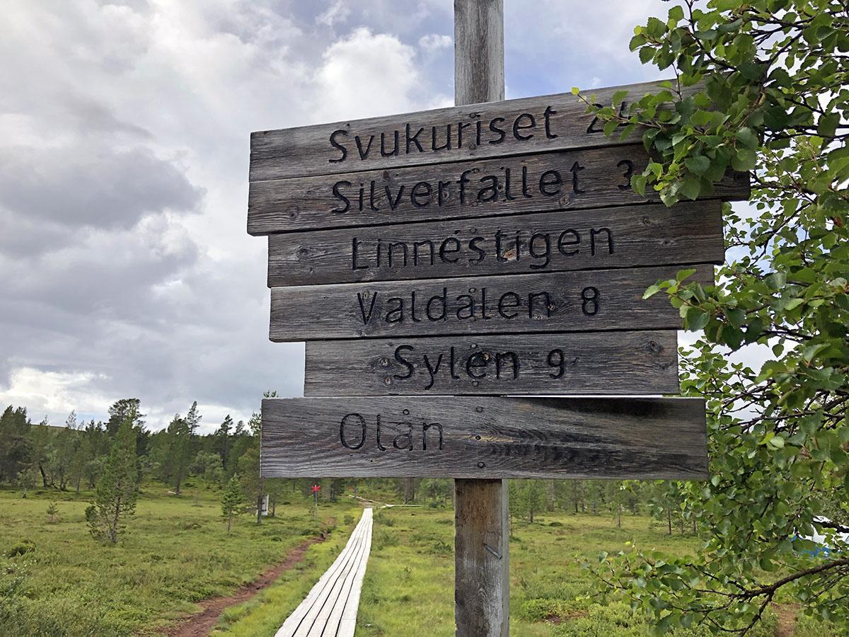 hiking in Grövelsjön