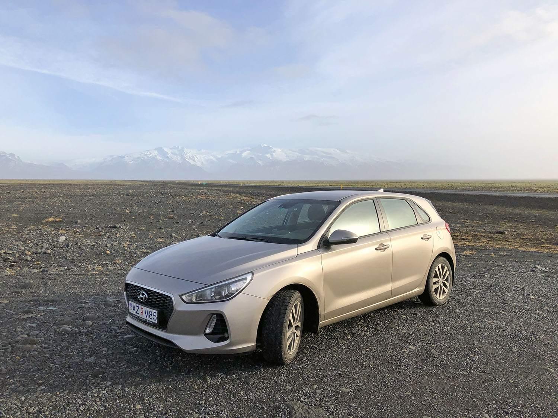 Auto huren IJsland winter