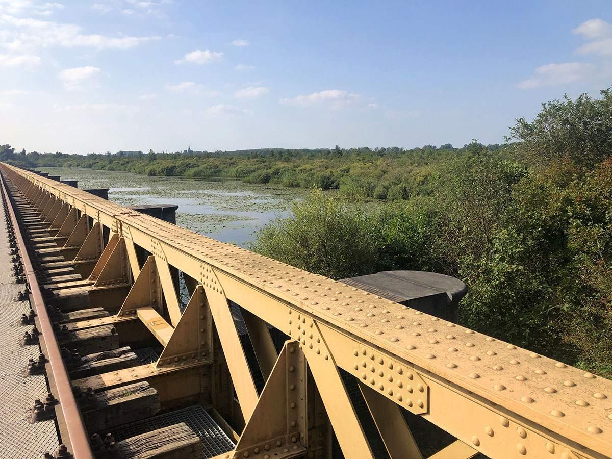 Moerputten Bridge in Van Gogh National Park