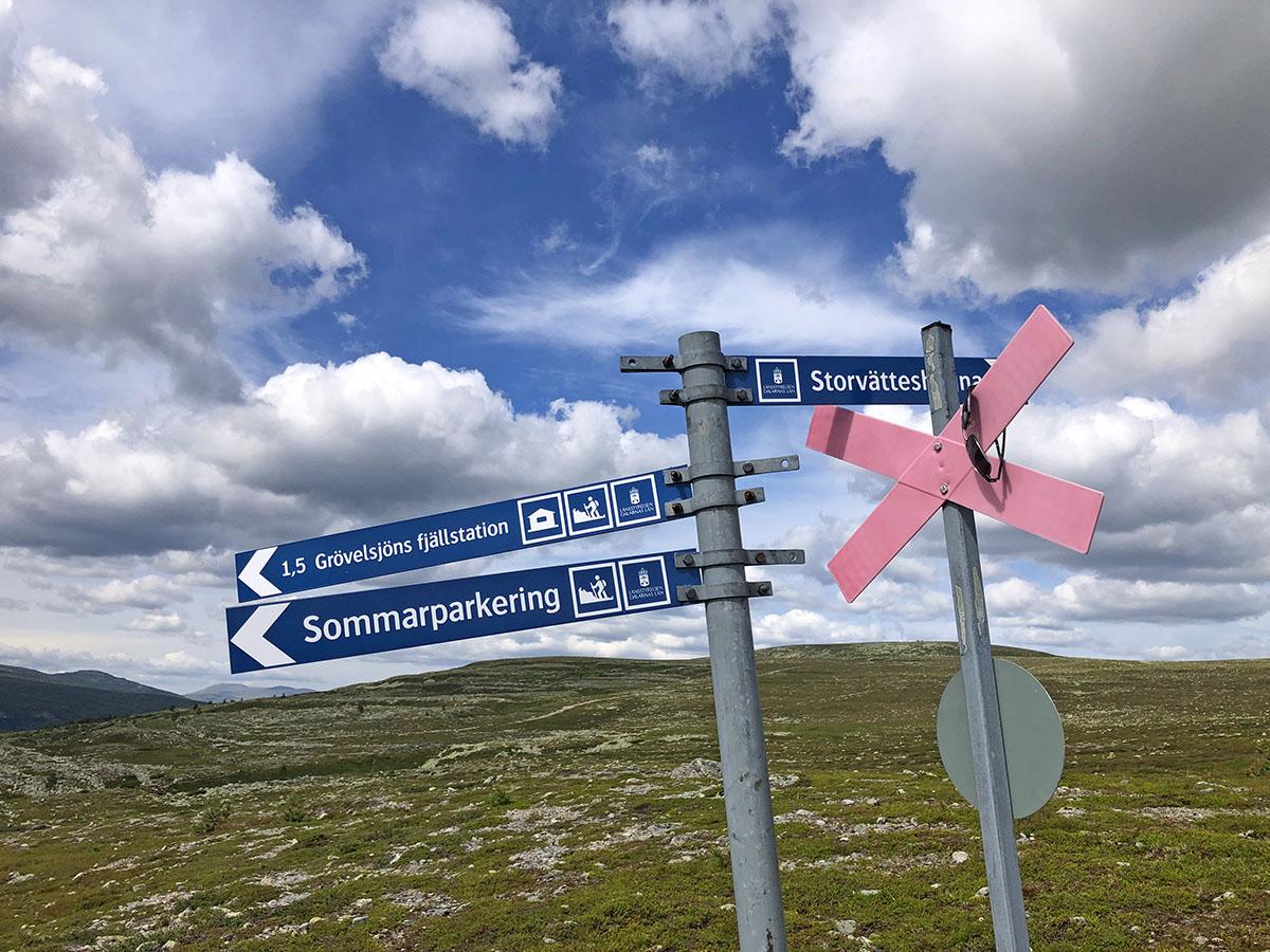 Grövelsjön hiking