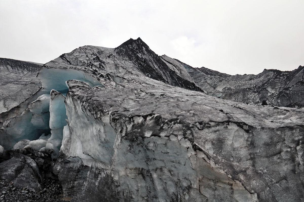 Myrdalsjökull gletsjers op ijsland gletsjers