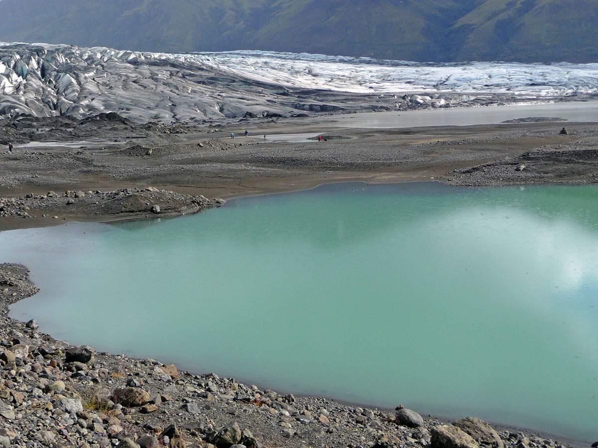Een van de gletsjers in Skaftafell NP