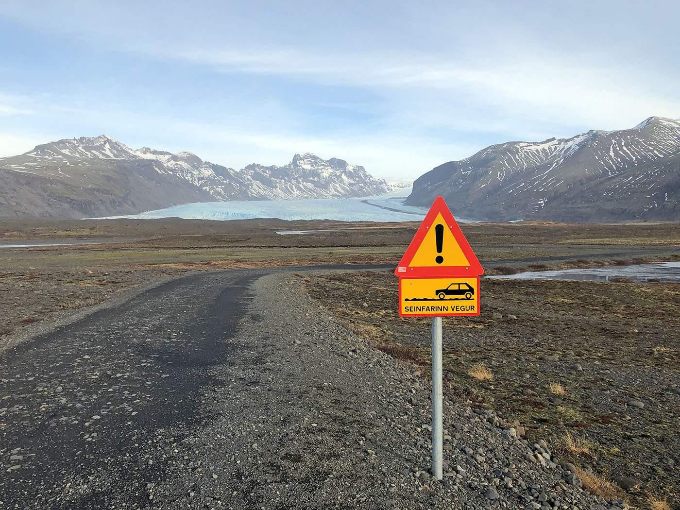 Is een auto huren op IJsland veilig?