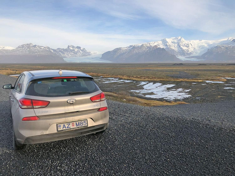 Autohuur IJsland 4x4 of normale auto