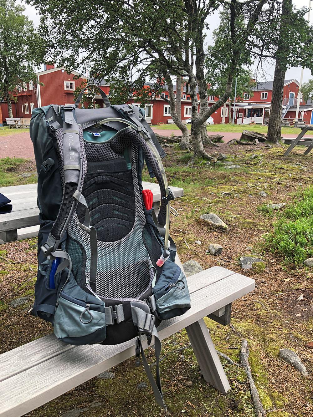 wandelen in Zweden in Grøuvelsjön